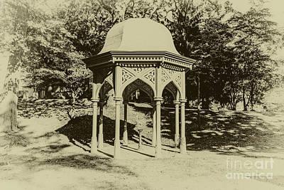Photograph - 1872 Gazebo by William Norton