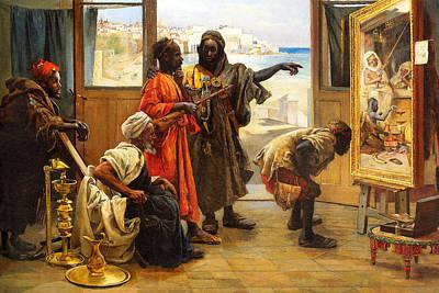 Photograph - 1873 Art Appreciation by Munir Alawi