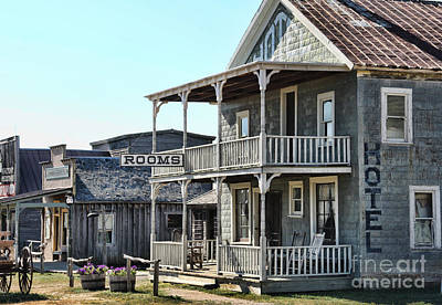 For Rent Photograph - 1880 Town Hotel  8331 by Jack Schultz