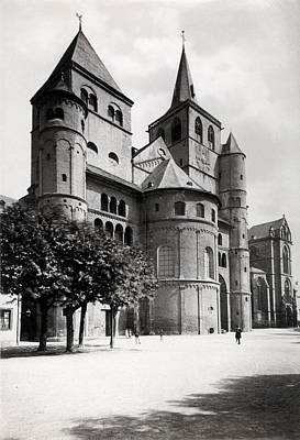 Photograph - 1880 Trier Cathedral Germany by Historic Image