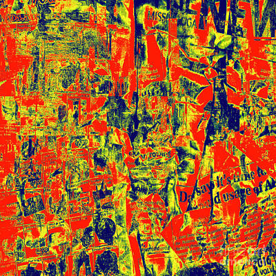 Digital Art - 1886 Abstract Thought by Chowdary V Arikatla