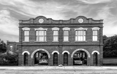 Photograph - 1887 Charleston Fire Station - 2 by Frank J Benz