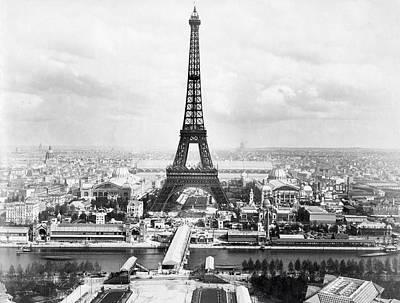 Photograph - 1889 Parisian Panorama by Historic Image