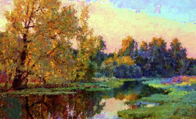 Sky Painting - Nature Landscape Artwork by Edna Wallen