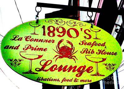 1890's Lounge Art Print