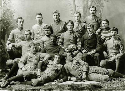 1891 Photograph - 1891 Michigan Wolverines Football Team by Jon Neidert