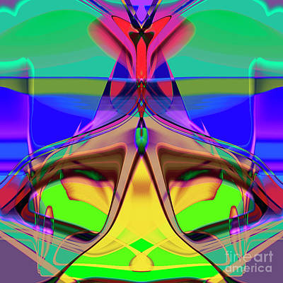 Digital Art - 1892 Abstract Thought by Chowdary V Arikatla