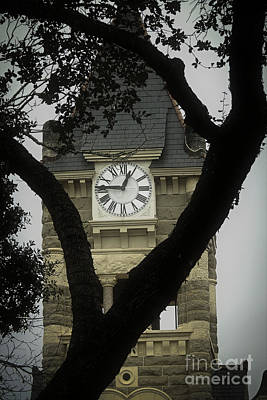 Photograph - 1892 Historic Clock Tower by Ella Kaye Dickey