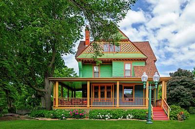 Photograph - 1893 Historic Home Sioux Falls South Dakota  -  1893historicsiouxfallshome167966 by Frank J Benz