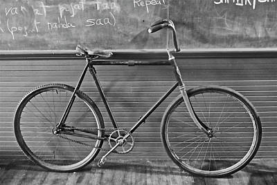 Photograph - 1895 Bicycle by Joan Reese