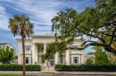 Photograph - 1895 Vila Margherita Mansion - Charleston - 1 by Frank J Benz