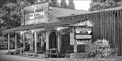 Photograph - 1897 Williams General Store by Julia Hassett