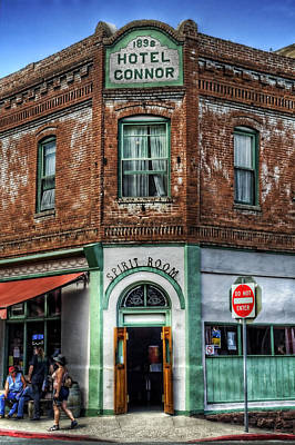1898 Hotel Connor - Jerome Arizona Art Print