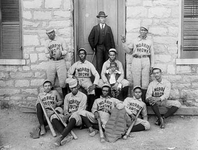 Photograph - 1899 Morris Brown Baseball by Paul Van Scott