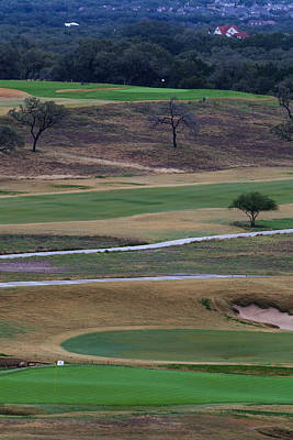Photograph - 18th At Tpc San Antonio, Texas by Ed Gleichman