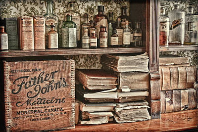Photograph - 18th Century Farmacy by Tatiana Travelways