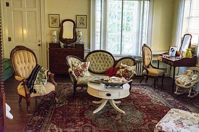Photograph - 18th Century Sitting Room by Douglas Barnett