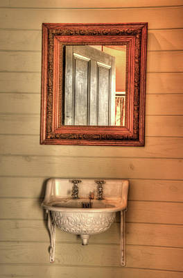 Photograph - 18th Century Water Closet by Douglas Barnett