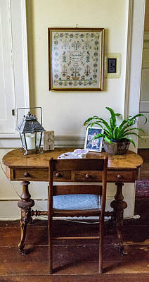 Photograph - 18th-century Writing Table by Douglas Barnett