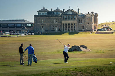 Photograph - 18th Tee St Andrews Scotland by Alex Saunders