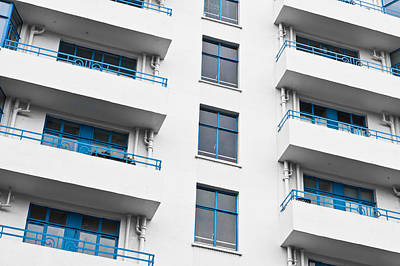 Buyer Photograph - Balconies by Tom Gowanlock