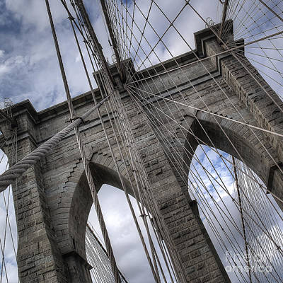 Bridge Photograph - Brooklyn Bridge by Twenty Two North Photography