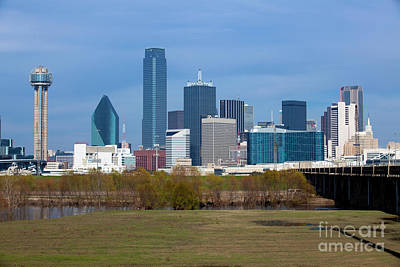 Metroplex Office Photograph - Dallas Texas by Anthony Totah