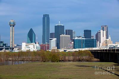 Dallas Texas Art Print