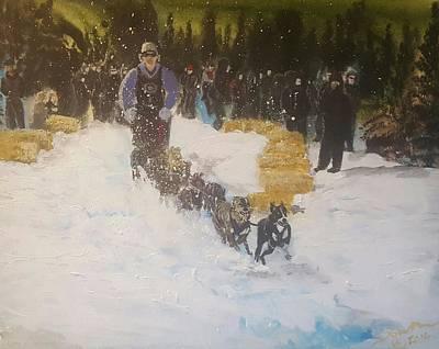Mushing Painting - #19 by Dawn Gullackson