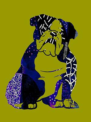 Bulldog Mixed Media - English Bulldog Collection by Marvin Blaine