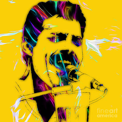 Freddie Mercury Queen Collection Art Print