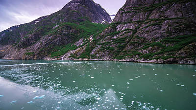 Photograph - Glacier And Mountains Landscapes In Wild And Beautiful Alaska by Alex Grichenko