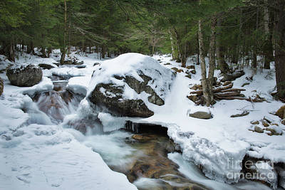 Photograph - 19 Mile Brook In Winter by Sharon Seaward