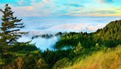 For Sale Painting - Nature Landscape Light by Margaret J Rocha