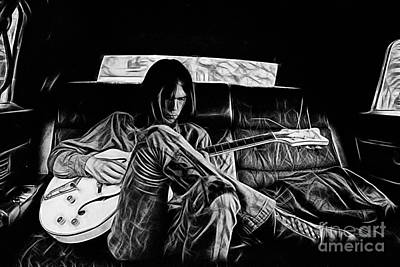 Neil Young Collection Art Print