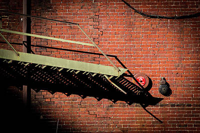 Photograph - Old Iron And Brick by Vintage Pix