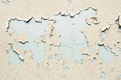 Peeling Paint Art Print