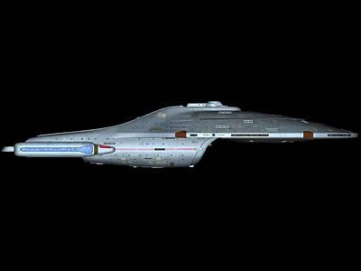 Airplane Digital Art - Star Trek by Super Lovely