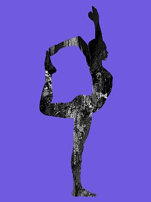 Yoga Collection Art Print