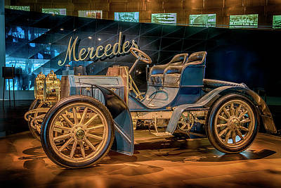 Photograph - 1902 40hp Mercedes Simplex 7r2_dsc8179_05102017 by Greg Kluempers