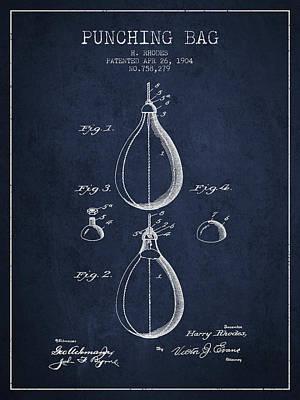 1904 Punching Bag Patent Spbx12_nb Art Print