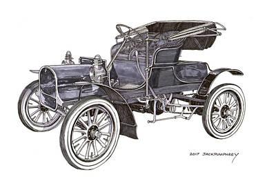 1906 Knox Runabout Original by Jack Pumphrey