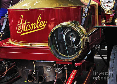Photograph - 1907 Stanley Steamer by Kaye Menner