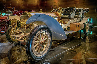 Photograph - 1908 75hp Mercedes Doppelphaeton 7r2_dsc8176_05102017 by Greg Kluempers