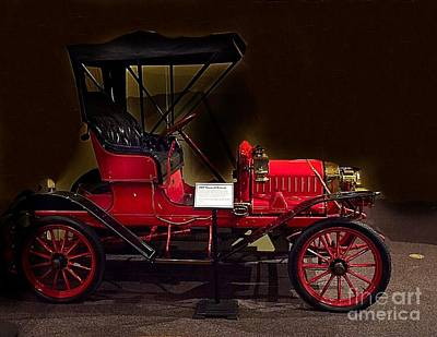 Photograph - 1909 Maxwell Briscoe Automobile by Anne Sands
