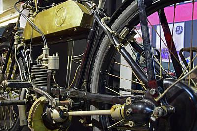 Grimm Fairy Tales - 1910 FN Motorcycle by Robert VanDerWal