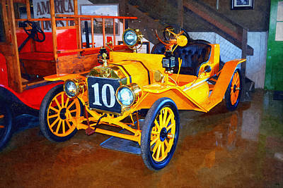 1910 Ford T Speedster Art Print by Glenn McCarthy Art and Photography