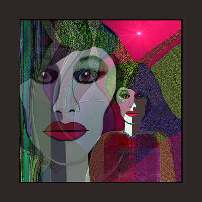 Digital Art - 1910 - I Am Woman 2017 by Irmgard Schoendorf Welch