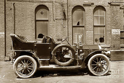 Photograph - 1910 Peerless Model 27 7 Passenger Tourer 1910 by California Views Archives Mr Pat Hathaway Archives