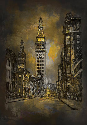 1910y Madison Avenue Ny. Art Print